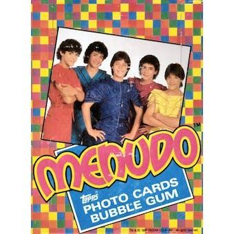 Menudo Wax Box (1983 Topps)
