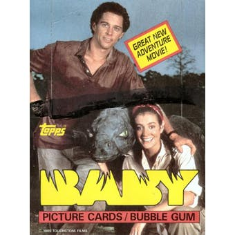 Baby Wax Box (1984 Topps)
