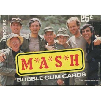 M*A*S*H MASH Wax Box (1982 Donruss)