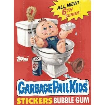 Garbage Pail Kids Series 6 Wax Box (1985-88 Topps)