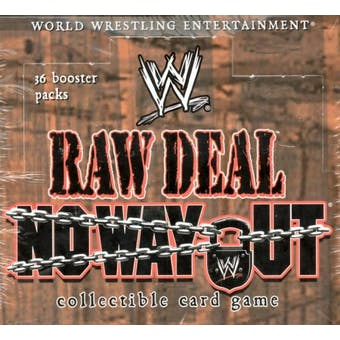 Comic Images WWE Raw Deal No Way Out Wrestling Booster Box
