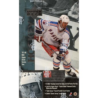 1997/98 Upper Deck Series 2 Hockey Hobby Box