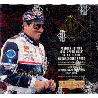 1998 Upper Deck SP Authentic Racing Hobby Box