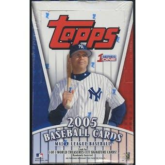 2005 Topps Series 1 Baseball 36 Pack Box