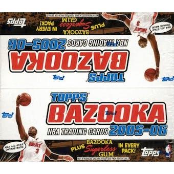 2005/06 Topps Bazooka Basketball 24 Pack Box
