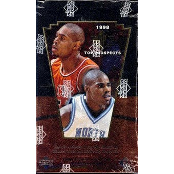 1998/99 Upper Deck SP Top Prospects Basketball Hobby Box