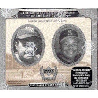 1999 Upper Deck Century Legends Baseball Hobby Box