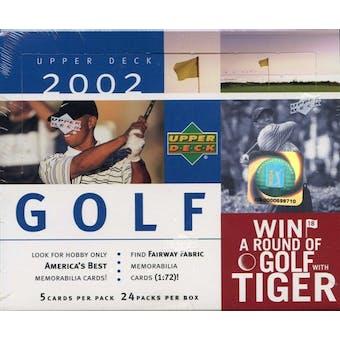 2002 Upper Deck Golf Hobby Box