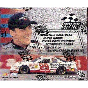 2001 Press Pass Stealth Racing Hobby Box