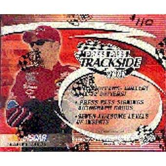 2001 Press Pass Trackside Racing Hobby Box
