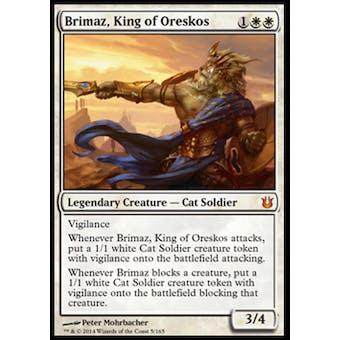 Magic the Gathering Born of the Gods Single Brimaz, King of Oreskos NEAR MINT (NM)
