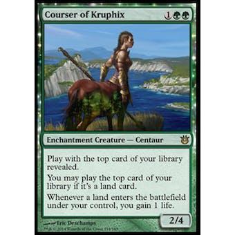 Magic the Gathering Born of the Gods Single Courser of Kruphix Foil NEAR MINT (NM)
