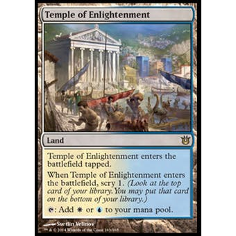 Magic the Gathering Born of the Gods Single Temple of Enlightenment Foil NEAR MINT (NM)