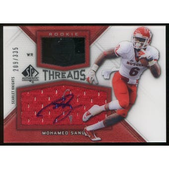 2012 Upper Deck SP Authentic Rookie Threads Autographs #RTMS Mohamed Sanu Autograph /335