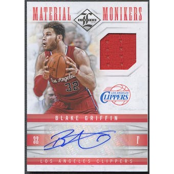2012/13 Limited #26 Blake Griffin Monikers Materials Jersey Auto #20/49