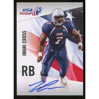 2012 Upper Deck USA Football Autographs #25 Imani Cross Autograph