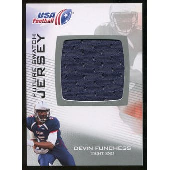 2012 Upper Deck USA Football Future Swatch #FS15 Devin Funchess