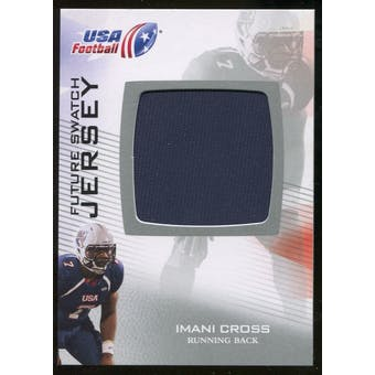 2012 Upper Deck USA Football Future Swatch #FS25 Imani Cross