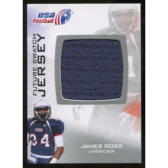 2012 Upper Deck USA Football Future Swatch #FS27 James Ross