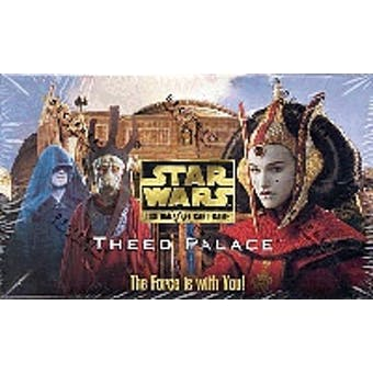 Decipher Star Wars Theed Palace Booster Box