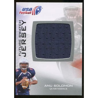 2012 Upper Deck USA Football Future Swatch #FS29 Anu Solomon