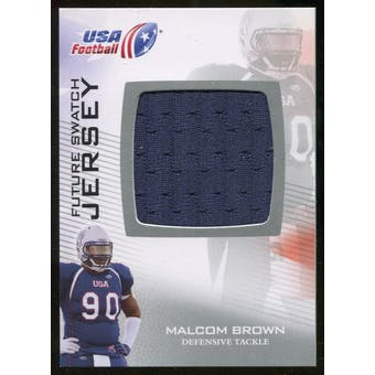 2012 Upper Deck USA Football Future Swatch #FS34 Malcom Brown