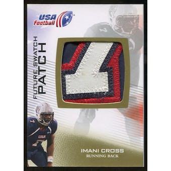 2012 Upper Deck USA Football Future Swatch Patch #FS25 Imani Cross