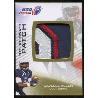 2012 Upper Deck USA Football Future Swatch Patch #FS30 Javelle Allen