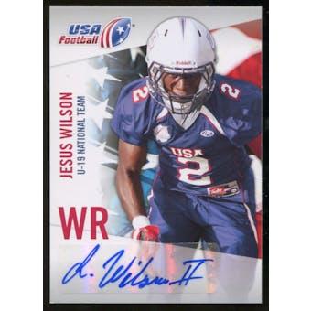 2012 Upper Deck USA Football U-19 National Team Autographs #U1912 Jesus Wilson Autograph