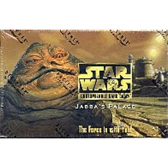 Decipher Star Wars Jabba's Palace Limited Booster Box