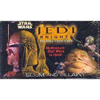 Decipher Star Wars Jedi Knight Scum and Villainy Booster Box