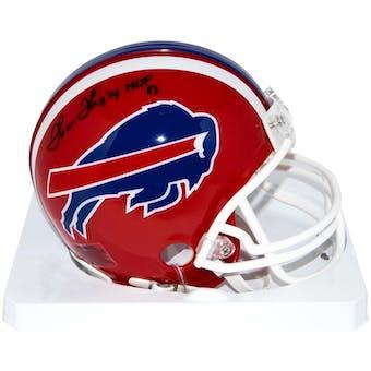 Thurman Thomas Autographed Buffalo Bills Mini Football Helmet w/ HOF inscription