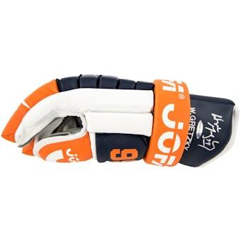 Wayne Gretzky Autographed Edmonton Oilers Jofa Right Hand Glove (UDA COA)