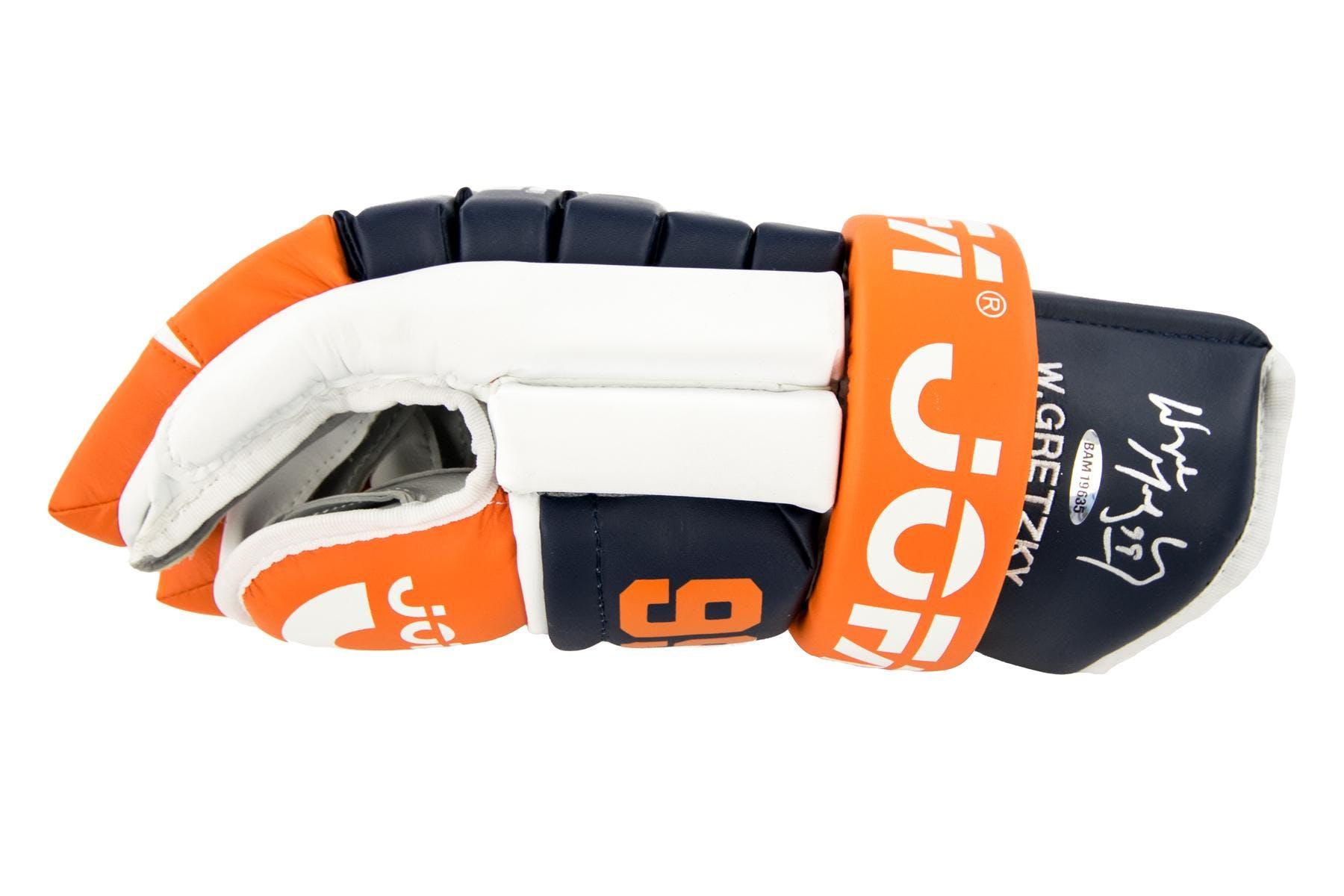 buy popular 68eba 9fac1 Wayne Gretzky Autographed Edmonton Oilers Jofa Right Hand Glove UDA