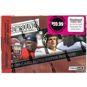 2014 Press Pass Showbound Football Hobby Box