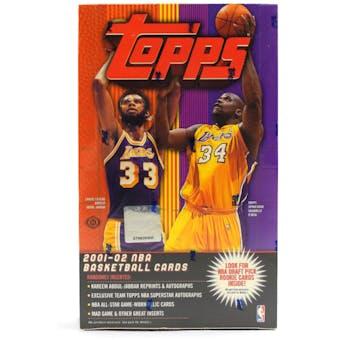 2001/02 Topps Basketball Hobby Box