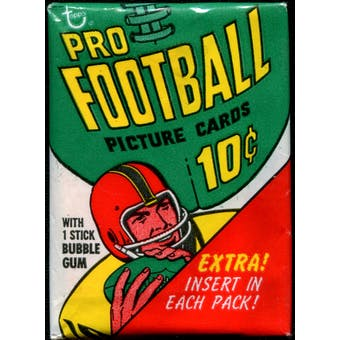 1970 Topps Football Wax Pack