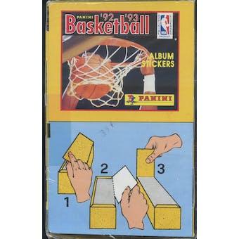 1992/93 Panini Basketball Sticker Box