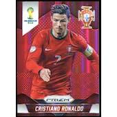 2014 Panini Prizm World Cup Prizms Red #161 Cristiano Ronaldo /149