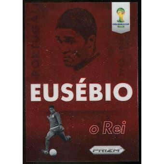 2014 Panini Prizm World Cup Eusebio Tribute #TEUS Eusebio