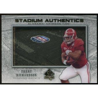 2012 Upper Deck SP Authentic Stadium Authentics Bowl Logo #SABTR Trent Richardson