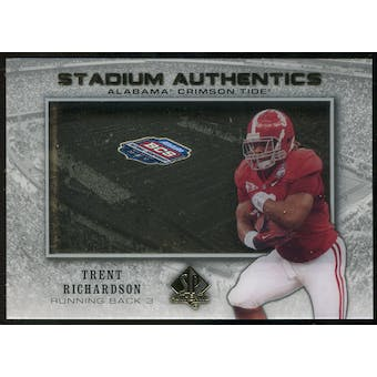 2012 Upper Deck SP Authentic Stadium Authentics Bowl Logo #SABTR Trent Richardson