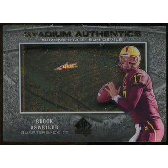 2012 Upper Deck SP Authentic Stadium Authentics #SABO Brock Osweiler