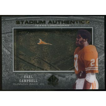 2012 Upper Deck SP Authentic Stadium Authentics #SAEC Earl Campbell