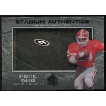 2012 Upper Deck SP Authentic Stadium Authentics #SAHW Herschel Walker