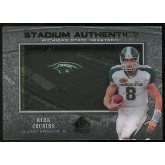2012 Upper Deck SP Authentic Stadium Authentics #SAKC Kirk Cousins