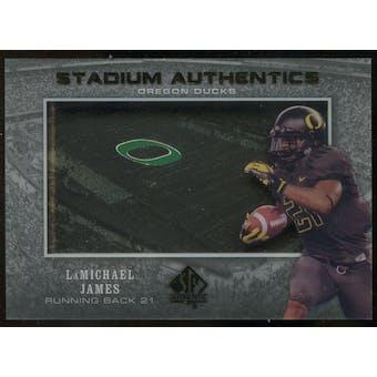 2012 Upper Deck SP Authentic Stadium Authentics #SALJ LaMichael James