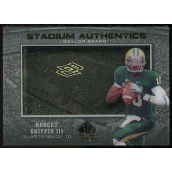 2012 Upper Deck SP Authentic Stadium Authentics #SARG Robert Griffin III