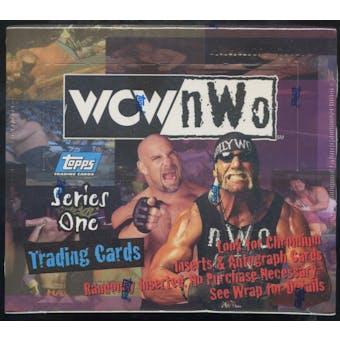 WCW/NWO Series 1 Wrestling Hobby Box (Topps 1998)