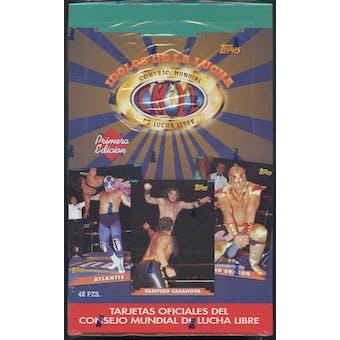 Idolos De La Lucha Primera Edicion CMLL Wrestling Box (Topps 1993)